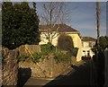 SX9165 : Alley in Plainmoor by Derek Harper