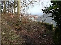 SE0721 : Elland Footpath 51 at Crawstone Hall by Humphrey Bolton