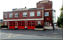 SO8376 : Kidderminster Fire Station by Jaggery