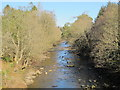NY7146 : The River South Tyne downstream of the A686 bridge by Mike Quinn