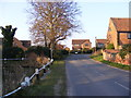 TM5197 : Hall Lane, Blundeston by Adrian Cable