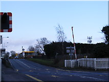 TM4069 : A12 Main Road & the footpath to Westleton Road by Adrian Cable