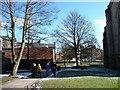 SD6828 : A pleasant walk, Blackburn Cathedral by Christine Johnstone