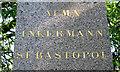 SP0686 : Alma, Inkermann, Sebastopol – memorial to Lt-Col Unett, Birmingham by Robin Stott