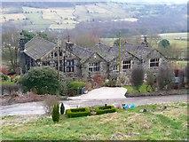 SE0721 : Crawstone Hall, Dog Lane, Greetland by Humphrey Bolton