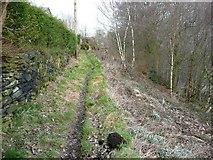SE0721 : North-east branch of Elland Footpath 51 by Humphrey Bolton