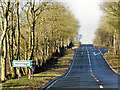 NY4728 : Baron's Hill, Westbound A66 by David Dixon