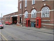 TQ1649 : 2 K6 Telephone Kiosks by The Saunterer