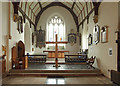 TQ2184 : St Mary, Neasden Lane, Church End - Chancel by John Salmon