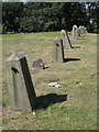 SP0892 : North boundary, Old Meeting House re-interments, Witton Cemetery by Robin Stott