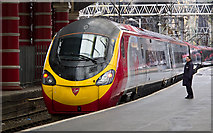 SJ3590 : Virgin Pendolino at Liverpool Lime Street by William Starkey