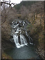 NN2026 : Waterfall on the River Lochy, Strone Hill by Karl and Ali