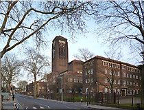 TQ3276 : William Booth College by Des Blenkinsopp