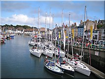 SY6778 : Weymouth Sailing Olympics 2012 by Sarah Smith