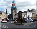 ST9273 : Church steeple repairs, Chippenham by Jaggery