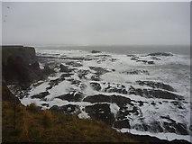 NT6779 : Coastal East Lothian : Wave-cut Platform At Dunbar by Richard West