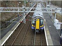 NS3074 : Bogston railway station by Thomas Nugent