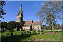 SK1820 : Church of St Mary, Dunstall by Tim Heaton