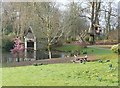 SW6334 : Boat house and tree house, Clowance Estate by Humphrey Bolton