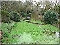 SW6334 : Fish pond, Clowance House by Humphrey Bolton