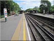TQ0893 : Moor Park Underground station, Hertfordshire by Nigel Thompson
