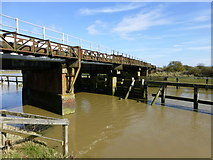 TQ0004 : Brighton to Portsmouth line crossing the River Arun by Dave Spicer