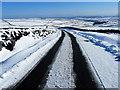 SE1275 : The Road on Pott Moor looking North East by Chris Heaton