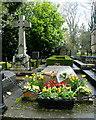 SP4414 : Grave of Sir Winston Churchill by Graham Horn