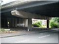 SP0891 : M6 crosses Brookvale Road, Witton B6 by Robin Stott