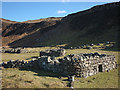 NM3551 : Cleared settlement at Rubha nan Oirean by Karl and Ali