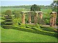 SK4851 : Topiary at Felley Priory Gardens by Trevor Rickard