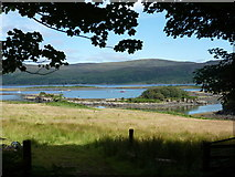NM4339 : Ulva: a view across the sound by Chris Downer