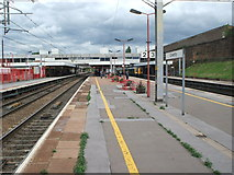 SP3378 : Coventry railway station by Nigel Thompson