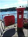 NM5055 : Tobermory: postbox № PA75 101 by Chris Downer