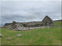 NG2261 : Trumpan: the old church by Chris Downer