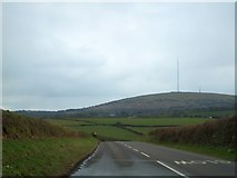 SX2773 : Looking from North Darley towards Bodmin Moor by David Smith