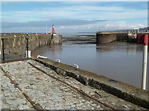 ST0743 : Watchet Harbour - remains of the West Somerset Mineral Railway by Chris Allen