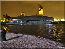 SJ8097 : The Imperial War Museum North, The Speed of Light by David Dixon