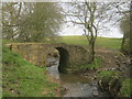 NZ3019 : Stone bridge carrying a footpath over Newton Beck by peter robinson