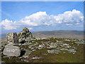 SH8241 : Summit area of Arenig Fach by Trevor Littlewood