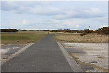 NS2006 : Access Road to Turnberry Lighthouse by Billy McCrorie