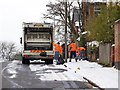 SP0482 : Rubbish collection day in St Edward's Road by David P Howard