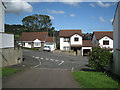 SX9274 : Moor View Drive from Hillside Close, Teignmouth by Robin Stott
