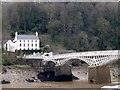 ST5394 : The English half of Chepstow Bridge by David Lally