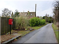 TL1097 : Waternewton (sic) postbox PE8 136 by Alan Murray-Rust