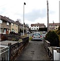 SS8983 : SW end of Church Street, Aberkenfig by Jaggery