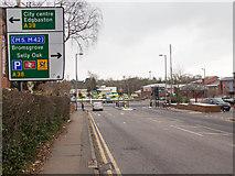 SP0583 : Junction on Bristol Road by David P Howard