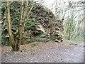 ST6371 : Former quarry, Avon Valley Woodlands by Christine Johnstone