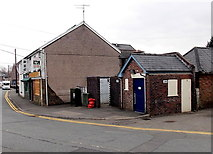 SS8983 : Pandy Road public toilets, Aberkenfig by Jaggery