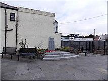 SS8983 : Aberkenfig War Memorial by Jaggery